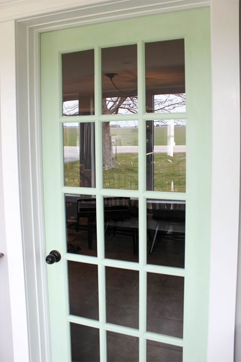How To Paint A French Door Without Losing Your Mind The Creek Line House
