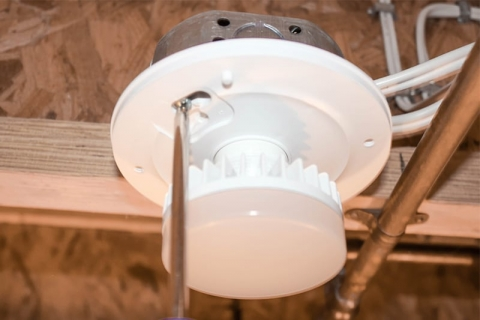 How to Install LED Light Fixtures to Replace Old Utility
