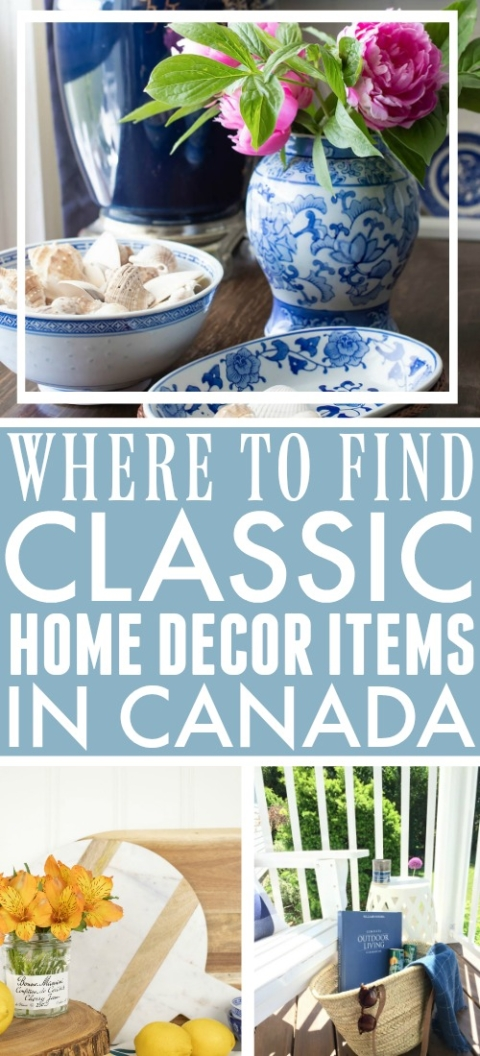 Where To Shop For Classic Home Decor In Canada The Creek Line House